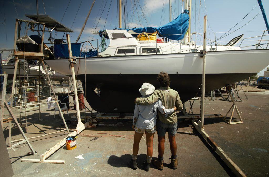 Mirrool - a Clansman 30 GRP Sloop - Free Range Sailing